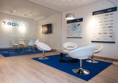 Proyecto de implantación de marca y decoración de Oficina Corporativa