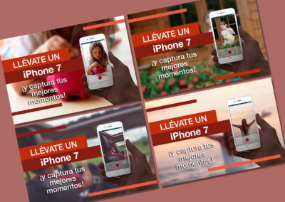 GENERALI banners iphone 7