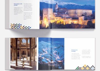 Diseño y maquetación folleto de prestigio