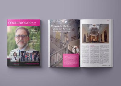 """Diseño y maquetación revista """"Odontólogos de Hoy"""""""