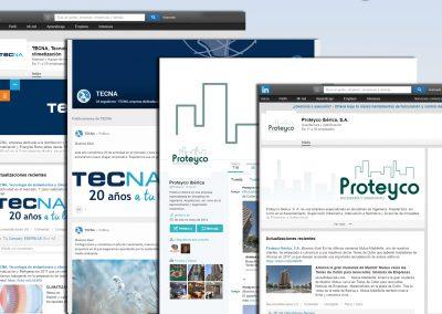 Creación, gestión y dinamización de perfiles en redes sociales