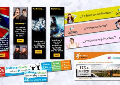 Diseño y programación de banners