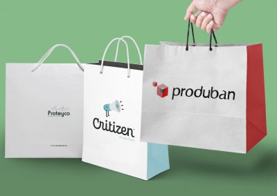 Diseño y fabricación de bolsas corporativas