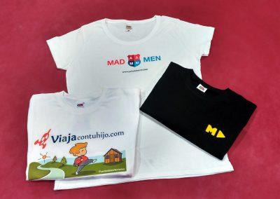 Diseño y producción camisetas