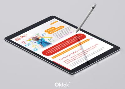 Diseño Emailing Campaña de Alimentos '19