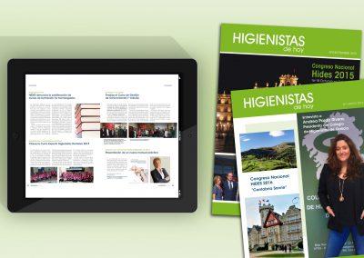 Diseño, redacción  y maquetación revista digital