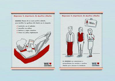 Ilustraciones a medida para soportes digitales y off line