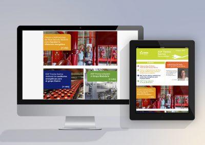 Newsletter Corporativa Multidispositivo