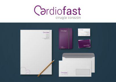 Diseño logotipo y papelería comercial