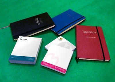 Diseño y producción de Moleskines y Blocs de notas