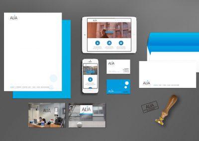 Diseño de Identidad Corporativa Completa