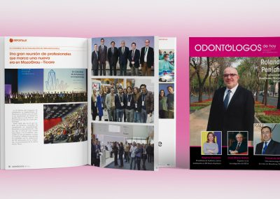 Diseño, redacción y maquetación de revista profesional