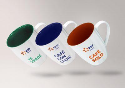 Diseño de tazas personalizadas