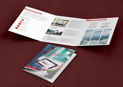 Conceptualización y Diseño Tríptico Comercial