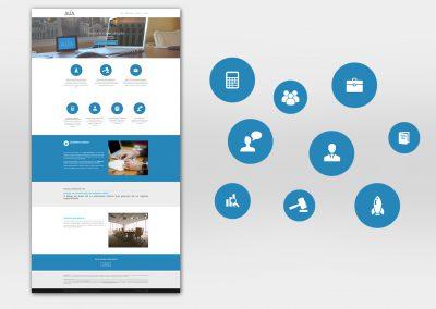 Diseño web, programación. Diseño de la iconografía
