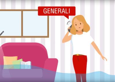 Vídeos ilustrados y animados 2D GENERALI Seguros